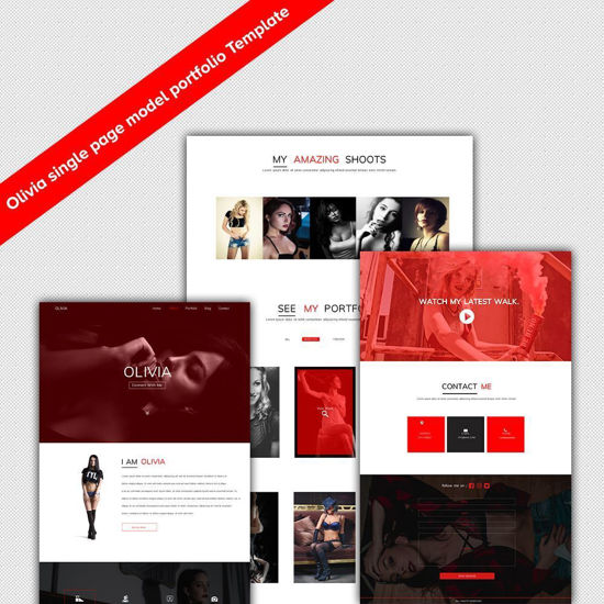 Olivia HTML5 Template Cover Image