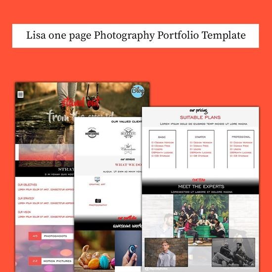 Lisa HTML5 Template Cover Image