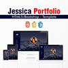 Jessica Doe Creative Portfolio HTML Template Cover Image