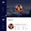 Jessica Doe Creative Portfolio HTML Template Hero Image