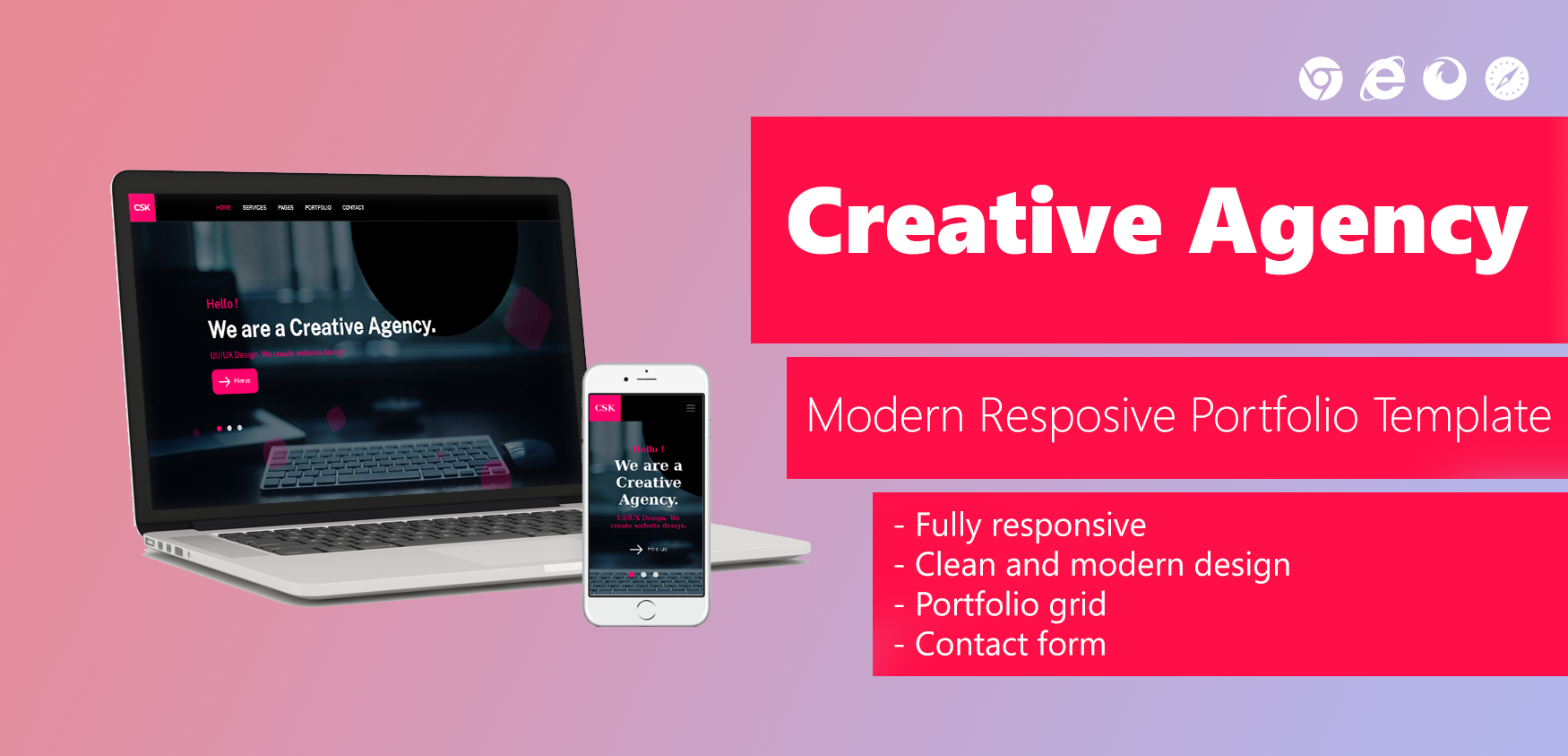 Html Template by Clanstech