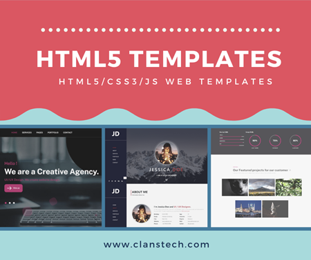 Picture for category HTML5 Templates